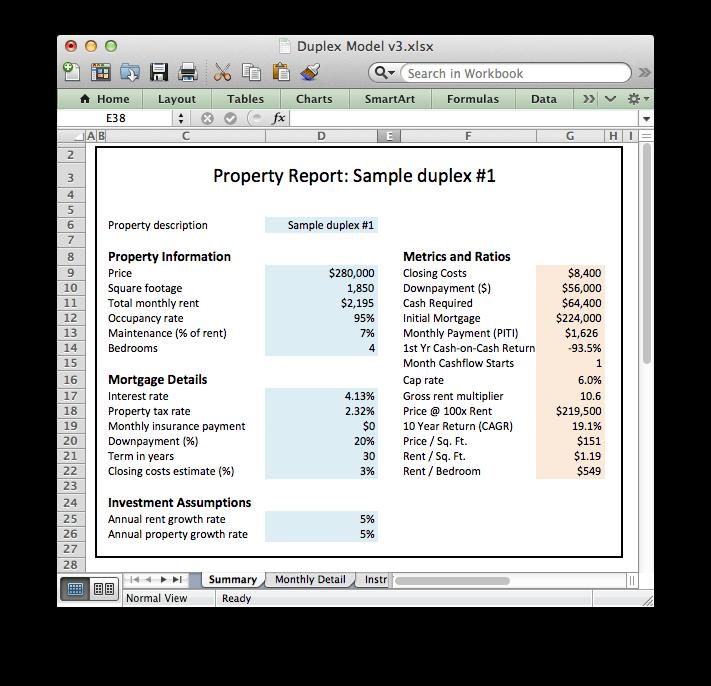 Excel Models - Downloads Archive
